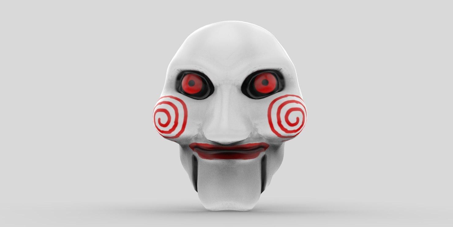 mask saw 3D model