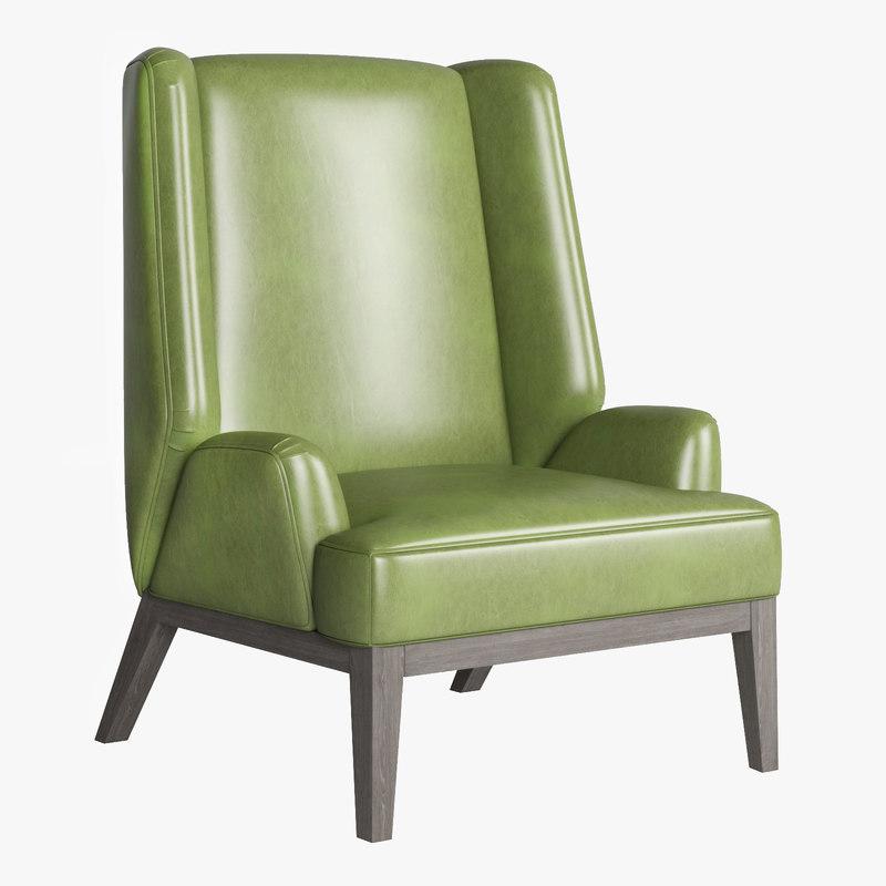 berchet 2 wing chair model