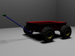 wheelbarrow barrow el 3D