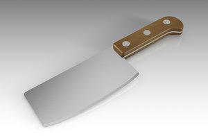 knife butcher model