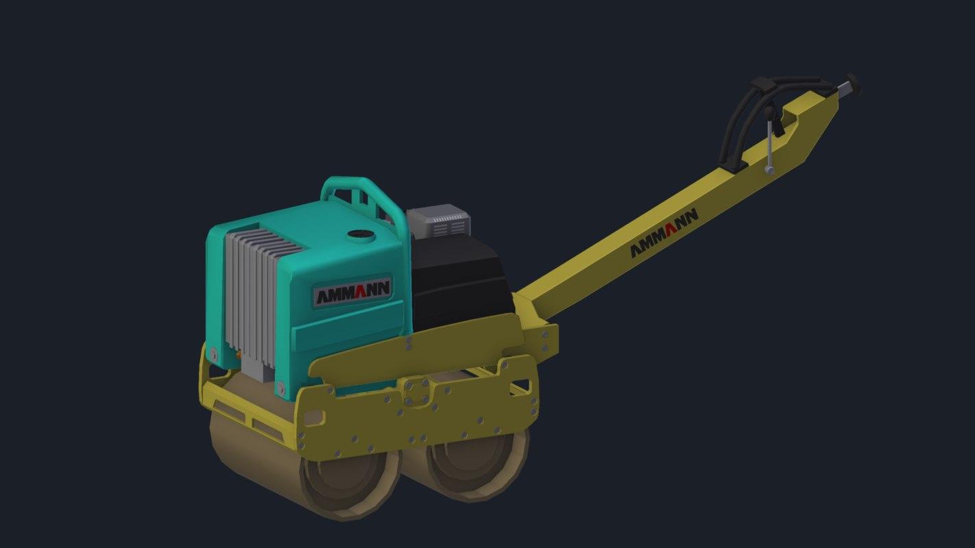 3D ammann ar65 model