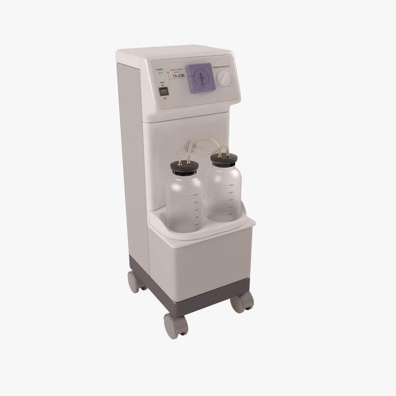 3D aspirator model