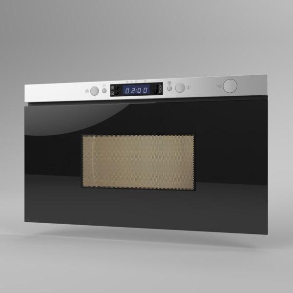 interior ikea microwave framtid 3D model