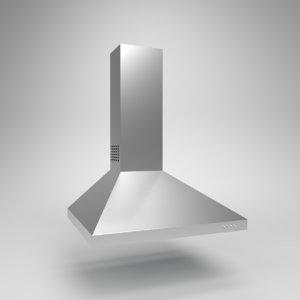 3D interior cata extractor hood model