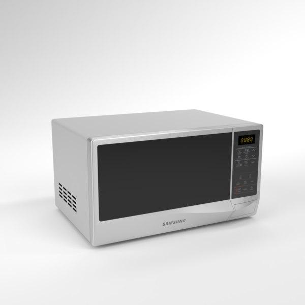 interior samsung microwave me83krs-2 3D