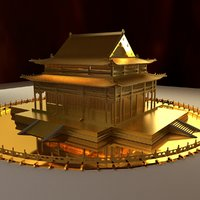 chinese ancient model