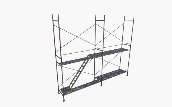 3D scaffold build model