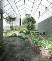 Garden for house