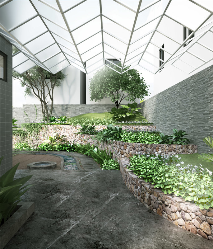 garden house model