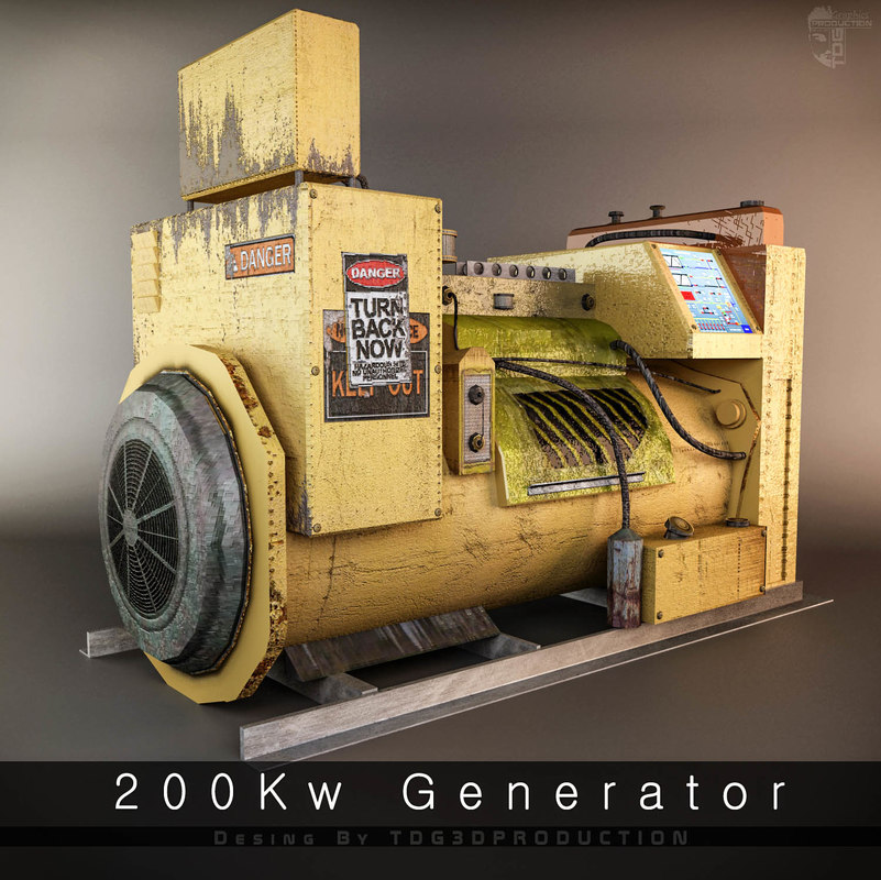 3D generator ready hd model