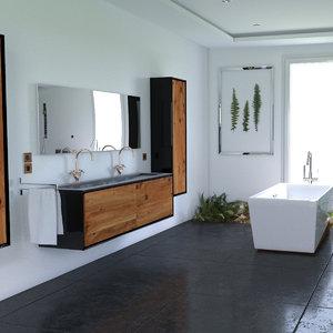3D model vegetable bathroom