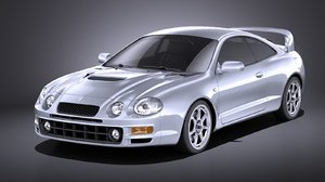 toyota celica gt-four 3D model