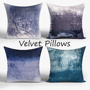 pillow fabric 3D