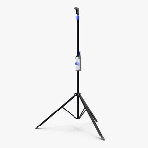 adjustable tripod stand 3D
