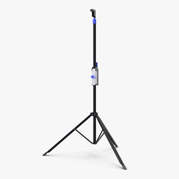 adjustable tripod stand 3D