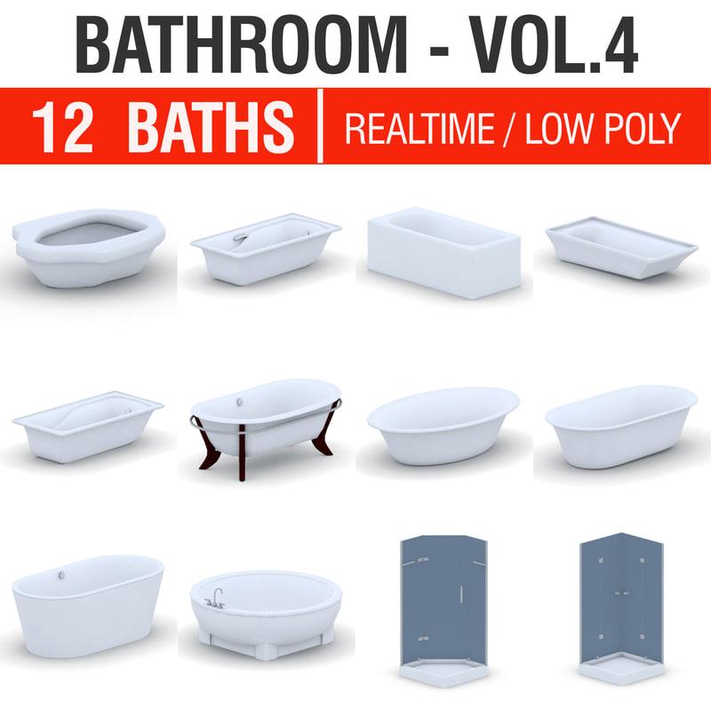 3D model - bathroom