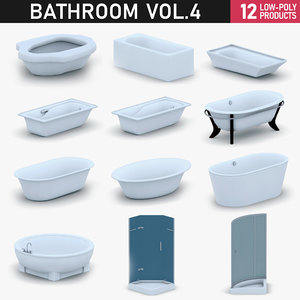 3D model - bathroom