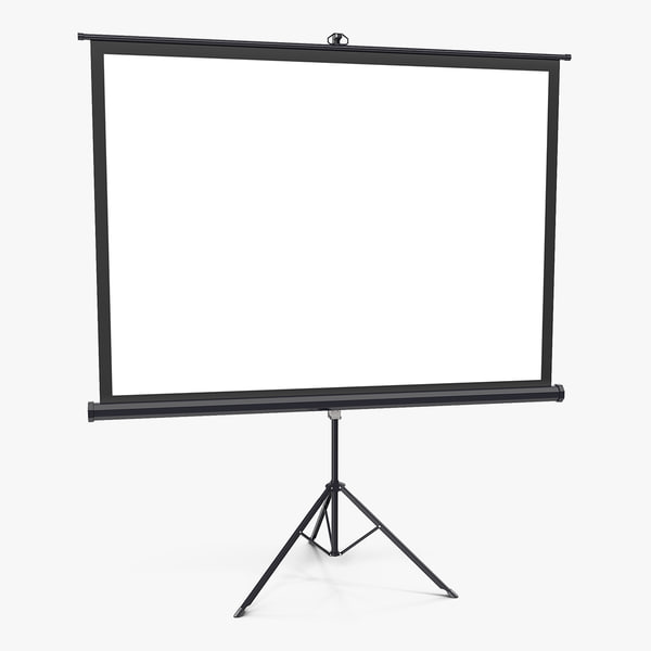 portable tripod projection screen model