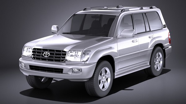 3D toyota land cruiser