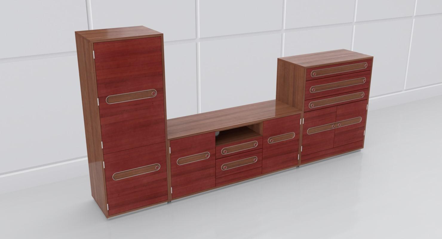 doors drawers 3D model