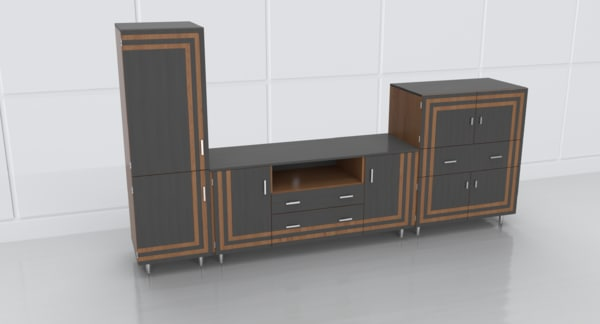 3D model tv stand