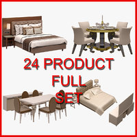 3D model 24 set
