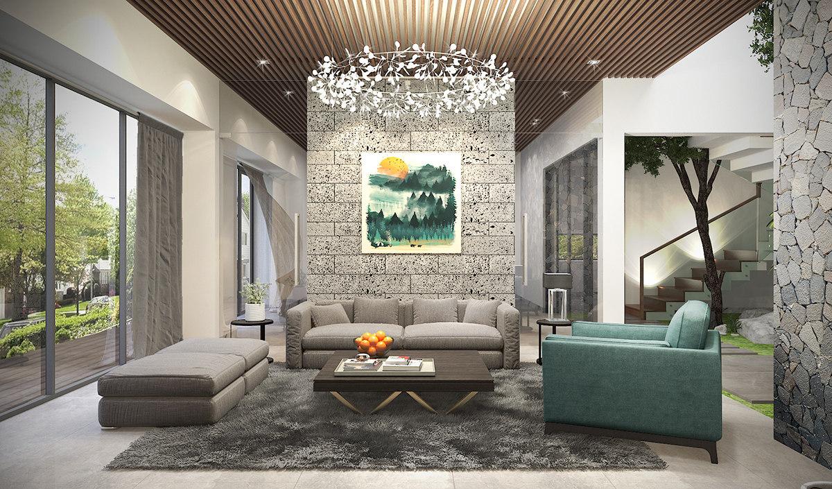 3D living tropical model