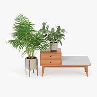 vase bush 3D model