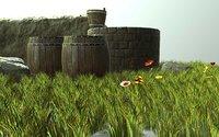 3D environment assets