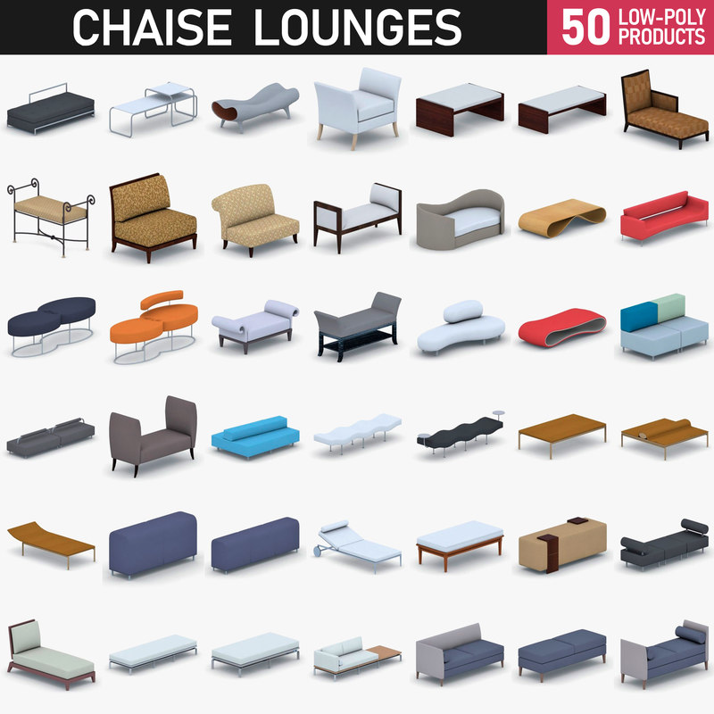 - furniture 3D model
