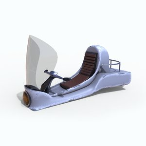 3D hovercraft craft