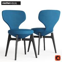 3D u-turn chair model