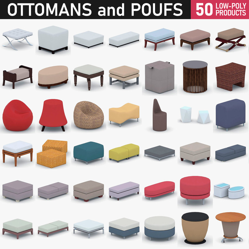 - furniture 3D model