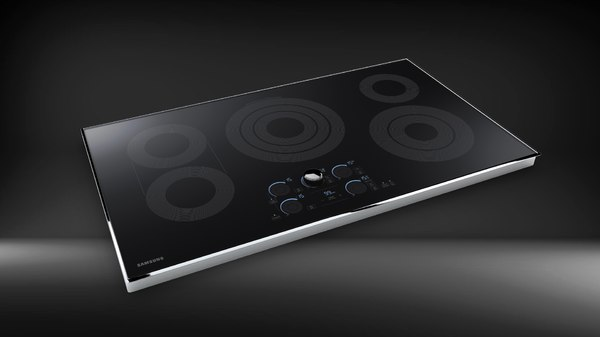 3D samsung electric cooktop 30 model