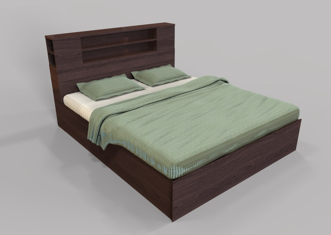 3D bed engine unity model