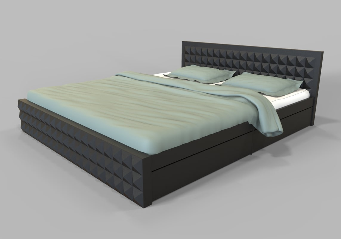 3D bed engine unity