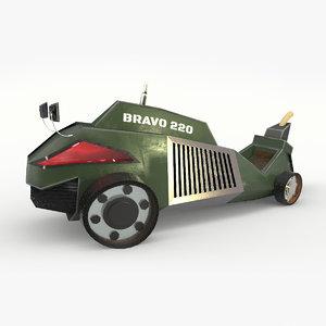 concept vehicle 3D model