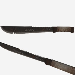 3D ready machete games wasteland model
