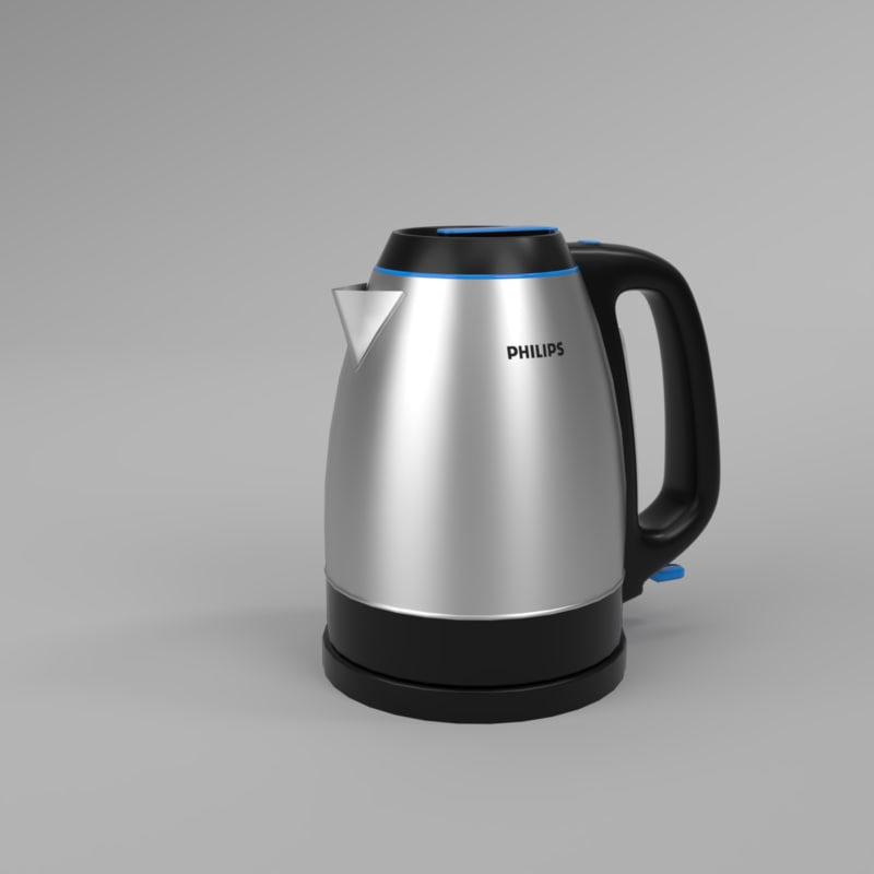 3D interior philips kettle hd9302