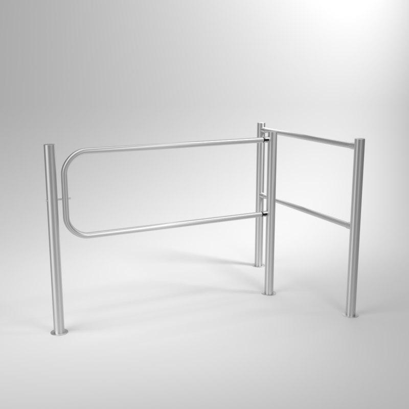 interior swing gates 3D model
