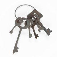 3D model key v-ray