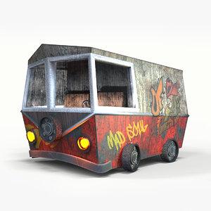 3D concept van