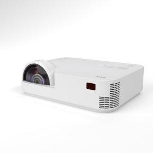 interior nec multimedia projector 3D