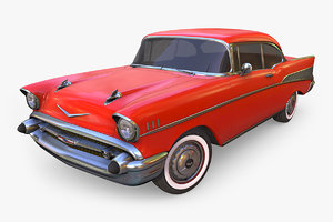 3D chevrolet bel air 1957