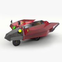 concept vehicle 3D model