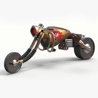 concept motorbike 3D model