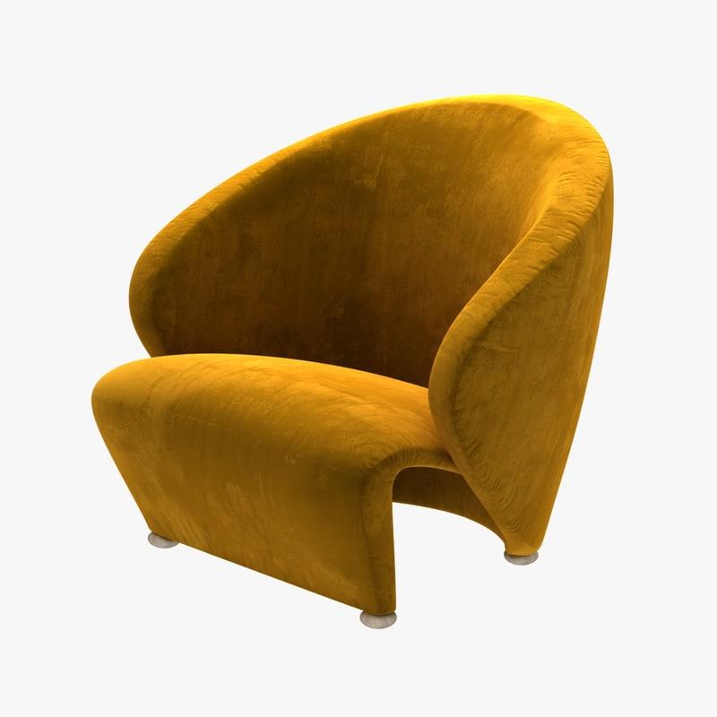 3D chair studio fabrika - model