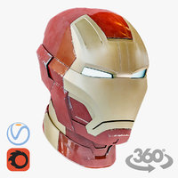 helmet iron man mark 3D