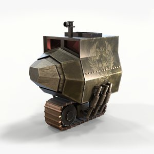 concept armored truck 3D model