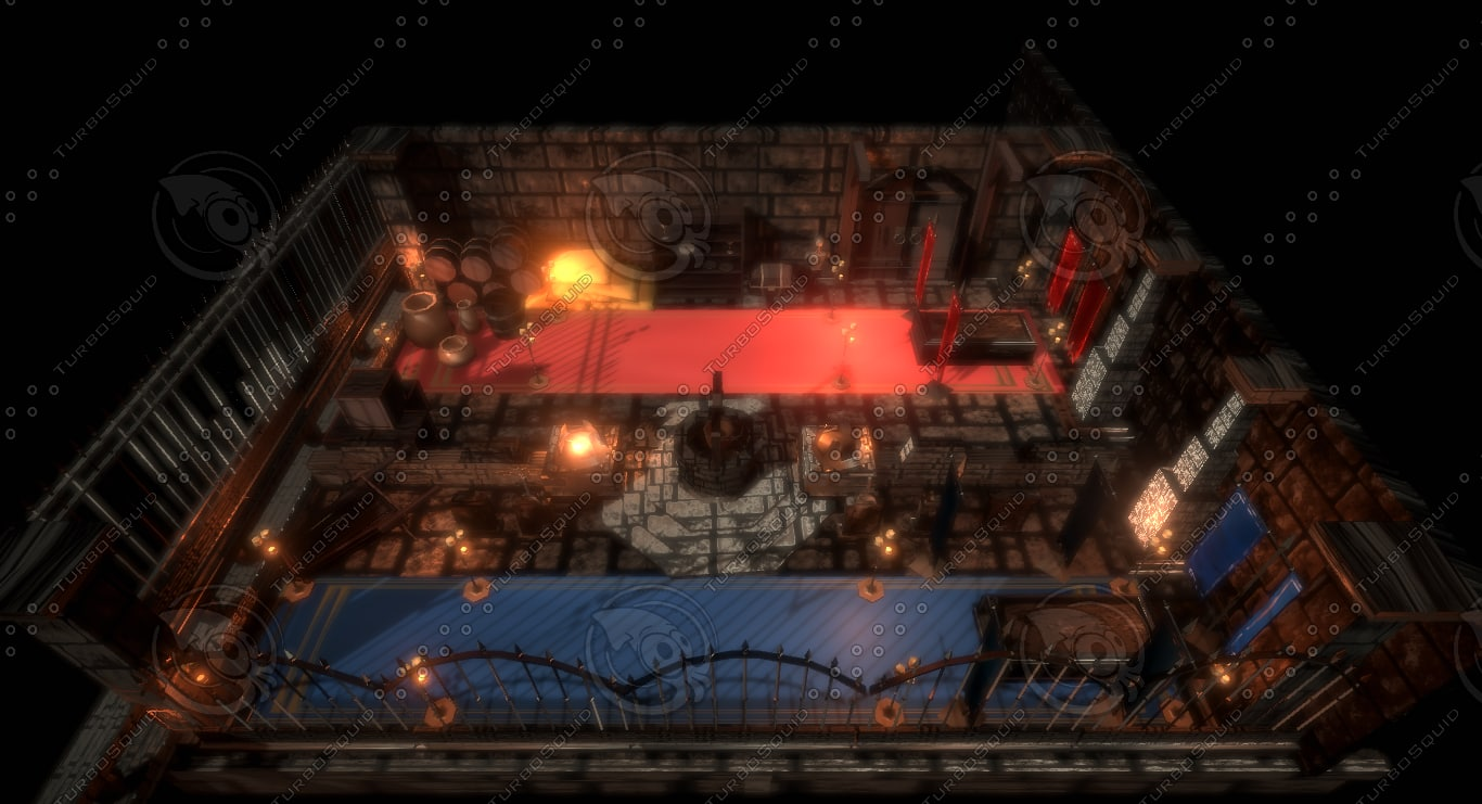dungeon asset pack model